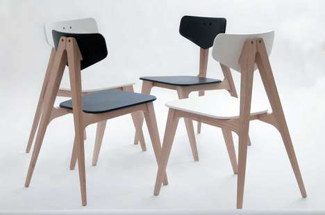 Clothespin-Inspired Chairs