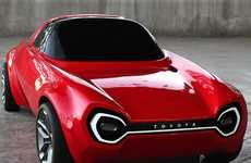 Shareable Sports Cars - The Toyota Public Sports Concept is an EV Designed to Be Ownerless