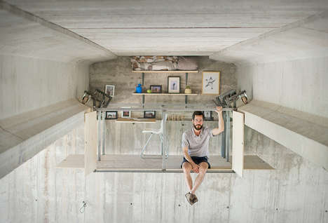 Underpass Workstations - This Underpass Studio Workspace is a Result of an Urban Space Shortage