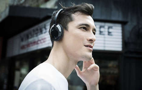 Lightweight Performance Headphones - The Philips Flite 'Ultrlite' Folding Headphones are Chic