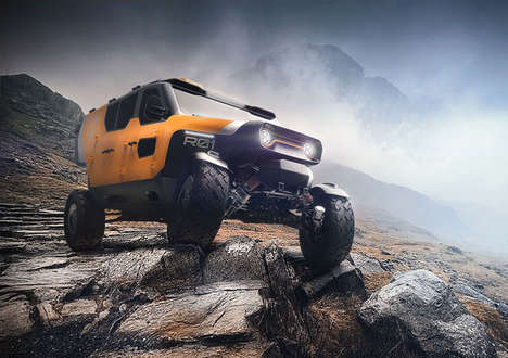 The Surgo 4×4 Off-Road Concept Vehicle Has Impressive Handling