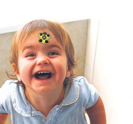 Unobtrusive Fever Indicators - 'Fever Bugz' Can Be Stuck to a Child's Forehead for 48 Hours