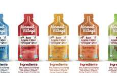 Vinegar Shot Packets - Vermont Village Makes It Easy to Take a Shot of Apple Cider Vinegar on the Go