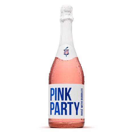 Celebratory Rosé Bottles