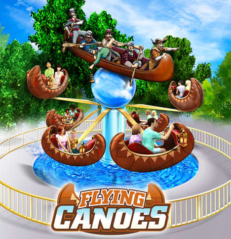 Canadiana Amusement Rides - Canada's Wonderland is Introducing Two New Themed Amusement Park Rides