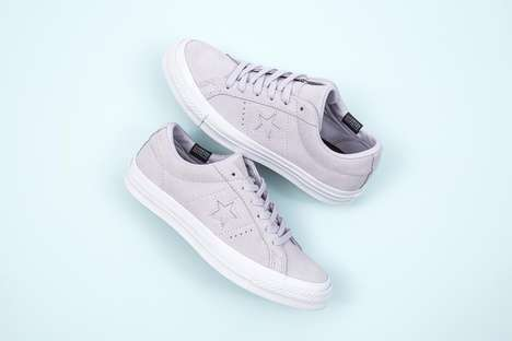 Water-Repellent Pastel Sneakers