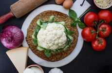 Precooked Cauliflower Crusts - Cali'flour's Cauliflower Pizza Crust is a Versatile Meal Base