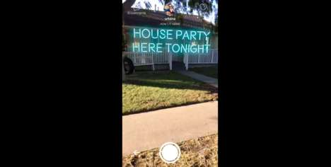 AR Messaging Apps - 'Neon' is a Social Messenger App That Lets Users Share Digital Neon Text