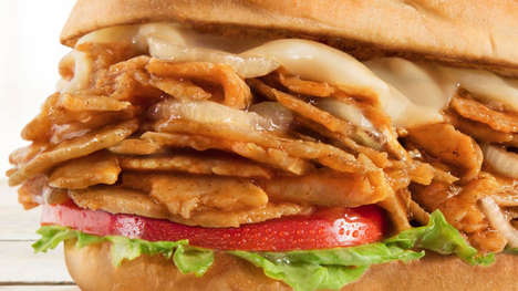 Chicken-Infused Philly Sandwiches
