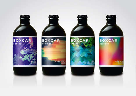 Bold-Flavored Small Batch Brews - The Boxcar Brew Co. is Offered in Sophisticated Bottles