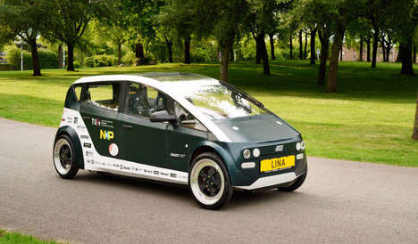 Lightweight Sustainable Automobiles - Dutch Students Built and Designed This Biodegradable Car