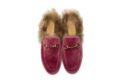 Kangaroo Fur Slip-Ons - Gucci's New Princetown Slippers Come in Two Luxurious Colorways