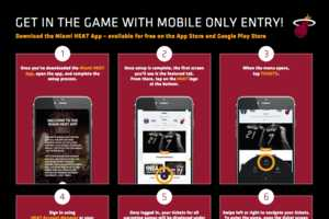 Mobile-Only Basketball Tickets
