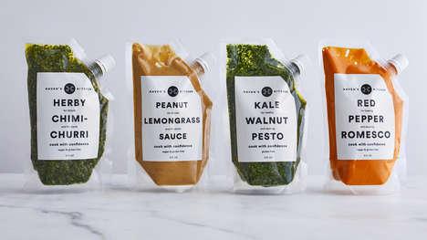 Futuristic Sauce Packaging