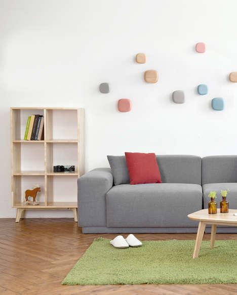 Decorative Wall-Hung Coat Racks