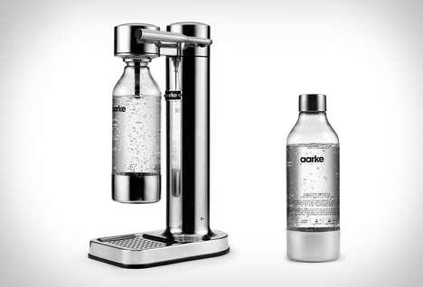 Stylish Sparkling Beverage Makers