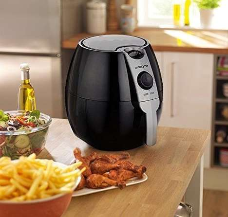 Fat-Reducing Frying Appliances - The 'CozynaAir' Fryer Cuts 75% of the Fat from Your Favorite Foods