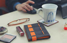 Customizable Travel Wallets - The 'KITMANA' Convertible Wallet Has CRYPTALLOY for Anti-RFID