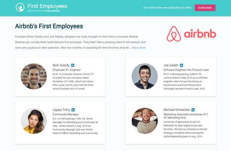 Employee-Hiring Case Studies - 'First Employees' Provides Studies of Top Tech Companies