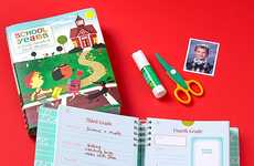 School Years Memory Books - This Book Allows Parents to Document their Children's Accomplishments