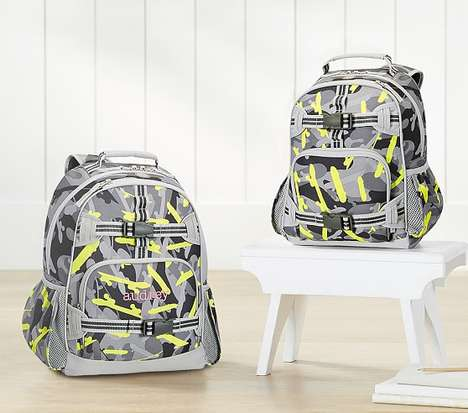 Glow-in-the-Dark Backpacks - Pottery Barn Kids Offers a Functional and Visually Distinct Backpack