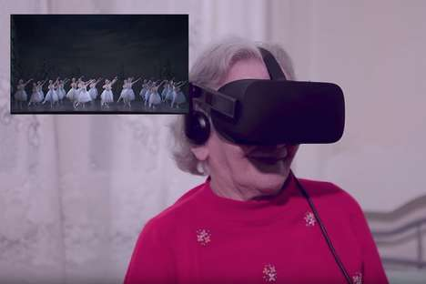 Senior VR Travel Campaigns - This Virtual Reality Travel Project Fulfilled Seniors' Travel Goals