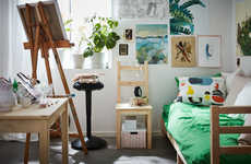 Dorm Room Advice Columns - IKEA Offers a Yearly Advice Column for Dorm Room Design Ideas