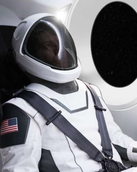 Aesthetically Functional Spacesuits - Elon Musk has Revealed an Image of SpaceX's Spacesuit Design