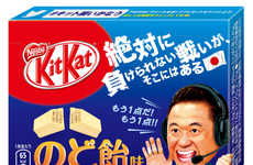 Lozenge-Flavored Chocolates - This Japanese Kit Kat Chocolate Bar Contains Real Cough Drop Powder