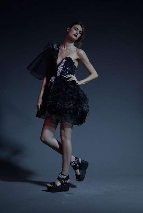 Chic LED-Embedded Dresses