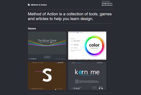 Design-Focused Game Collections - 'Method of Action' Helps Designers Hone Their Skills