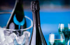 Blue Sparkling Wines - Skyfall Gran Reserva is a Naturally Blue Sparkling Wine from Spain