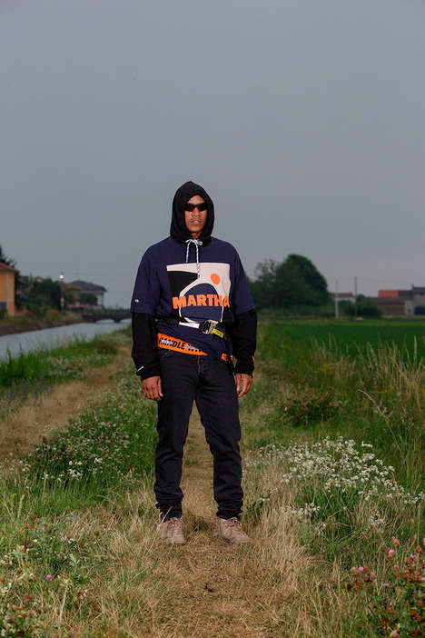 Incognito Normcore Apparel - The Heron Preston Spring/Summer 2018 Lookbook is Heavily Layered