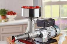 Authentic Tomato Sauce Appliances - The Italian Electric Tomato Press Has Premium Components