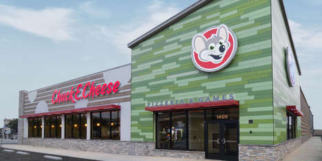 Millennial Parent Restaurant Rebrandings - Chuck E. Cheese Restaurants Have Been Stylishly Revamped