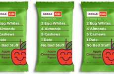 Nutritional Child Protein Bars - The Apple Cinnamon Raisin RXBAR Kids are Formulated for Little Ones
