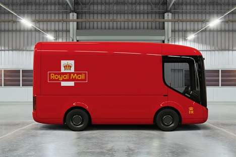 Electric Mail Delivery Vehicles - The Royal Mail Will Be Trailing 9 Zero Emission Vehicles in London