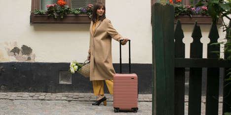 Stockholm-Inspired Luggage - The Away x Rashida Jones Collection is Inspired by Scandinavian Design