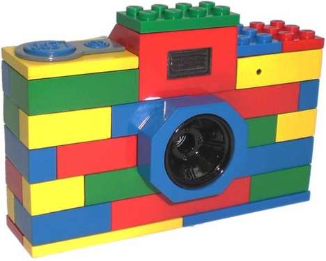 Digital LEGO Cameras - This Functioning Camera is Made from Bright Building Blocks