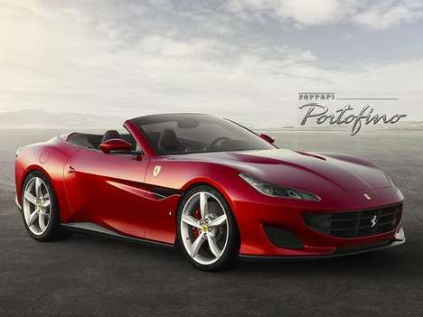 Entry-Level Supercar Successors - The Ferrari Portofino is the Replacement for the California T