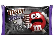 Cookie-Flavored Halloween Candies - M&M's New Fall Flavor is Called 'Cookies and Screeem'