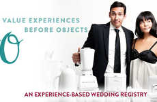 Experience-Based Wedding Registries - VEBO Lets Couples Register for Experiences Instead of Products
