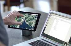 Ergonomic Technology Mounts - The 'Pukk' Magnetic Mount Keeps Devices at the Perfect Angle