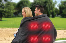 Heated Sports Fan Blankets