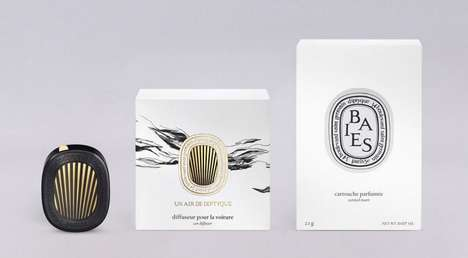 High-End Automotive Fresheners - Diptyque Created an Upscale Air Freshener for Cars