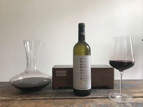 Wine-Analyzing Illuminators