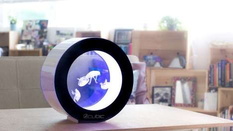 Desk-Friendly Jellyfish Aquariums - The 'Orbit20' was Made for Juvenile Jellyfish