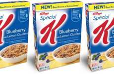 Antioxidant-Rich Cereals - The Kellogg's Special K Cereal Blueberry with Lemon Clusters is Balanced