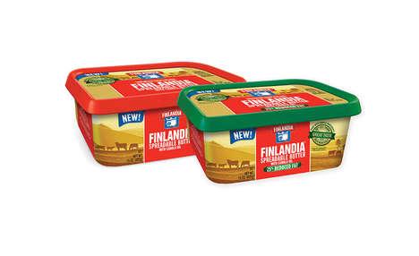 Blended Butter Oil Spreads