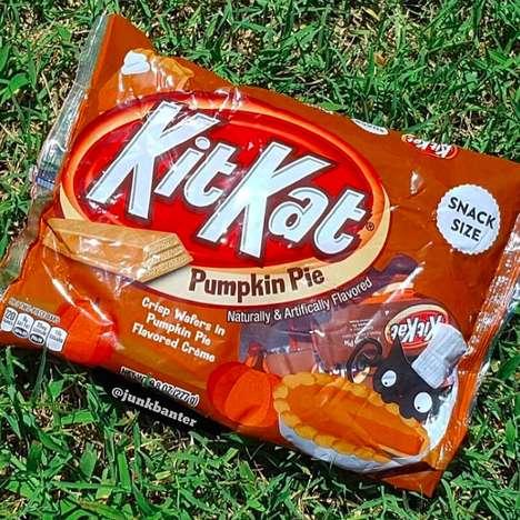 Pumpkin Pie-Flavored Chocolates